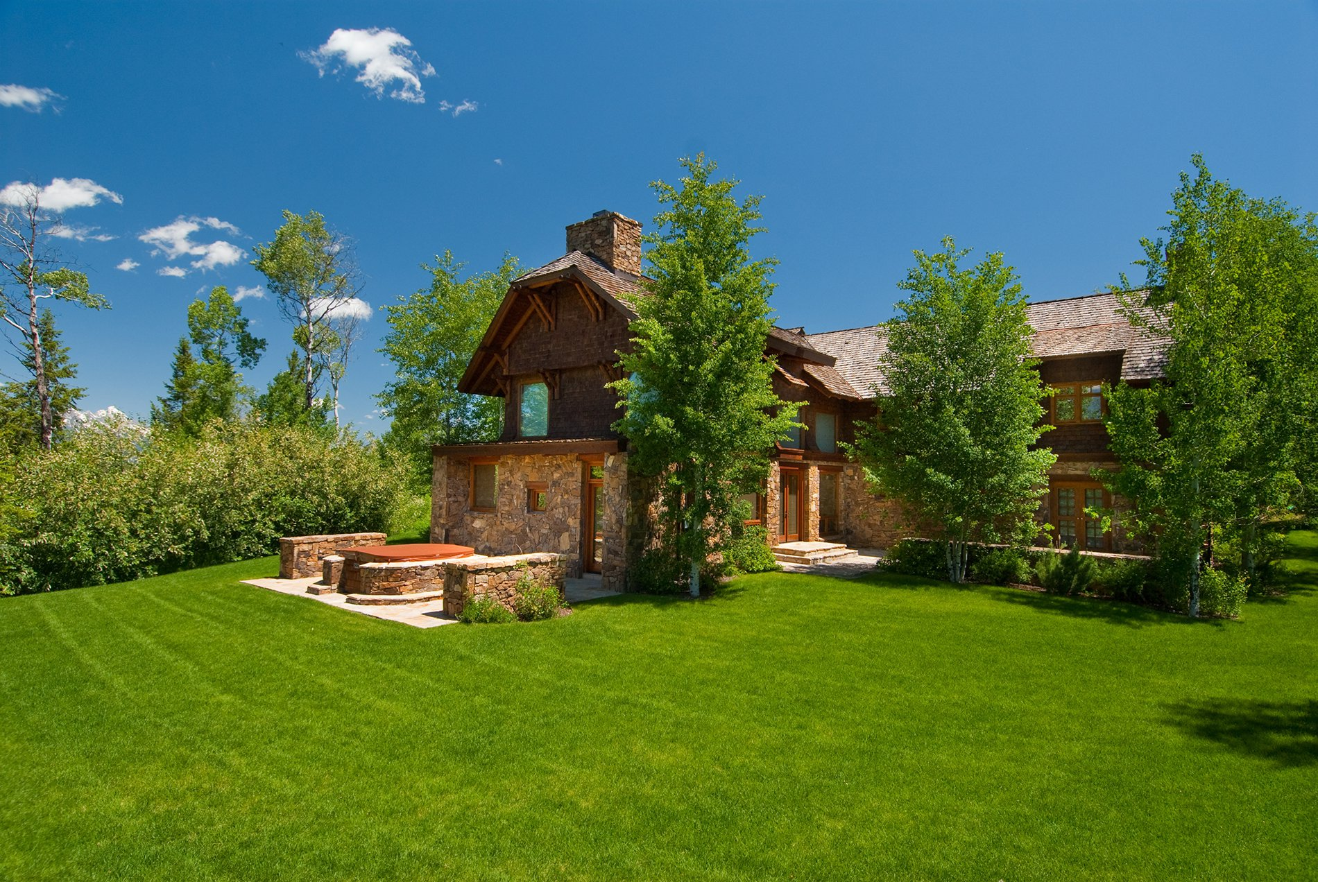 Indian Springs Ranch Wyoming Home For Sale