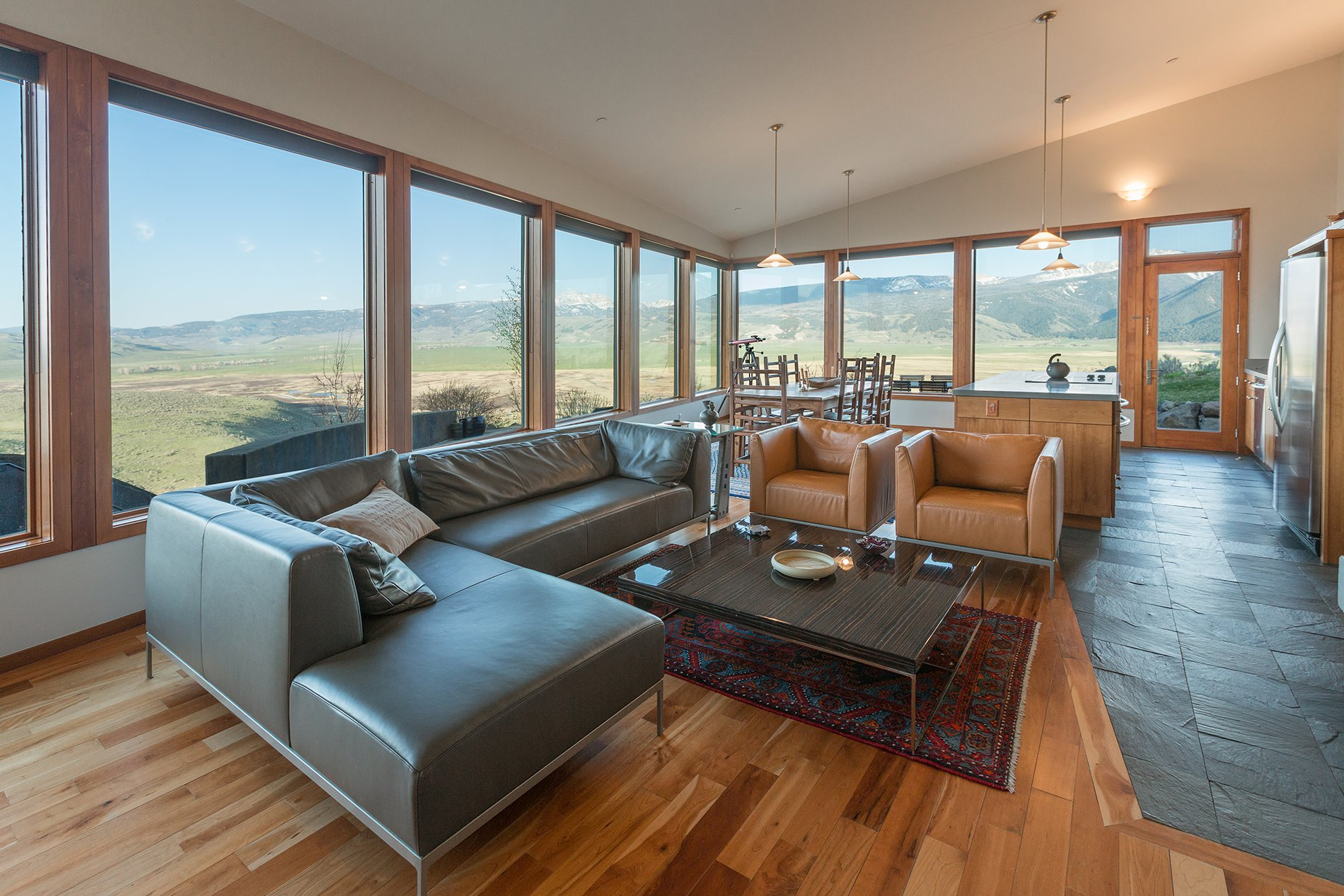 Modern home for sale in Jackson Hole Wyoming