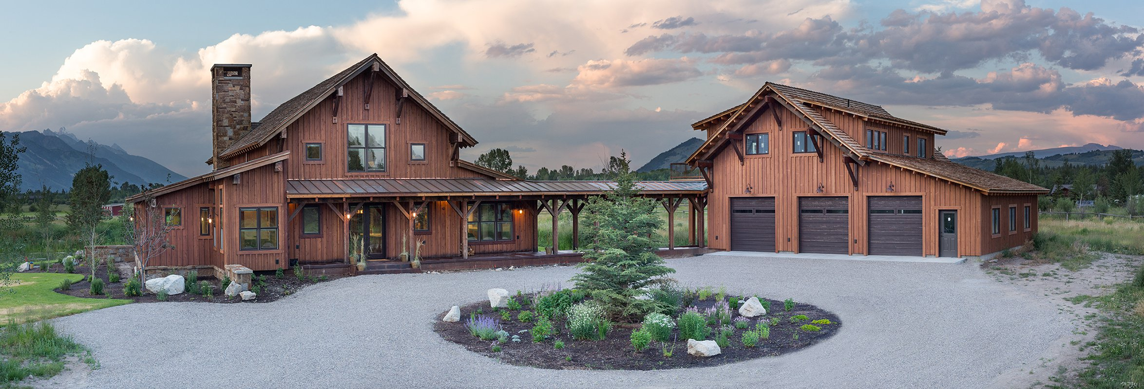 Custom home for sale in Jackson Hole Wyoming