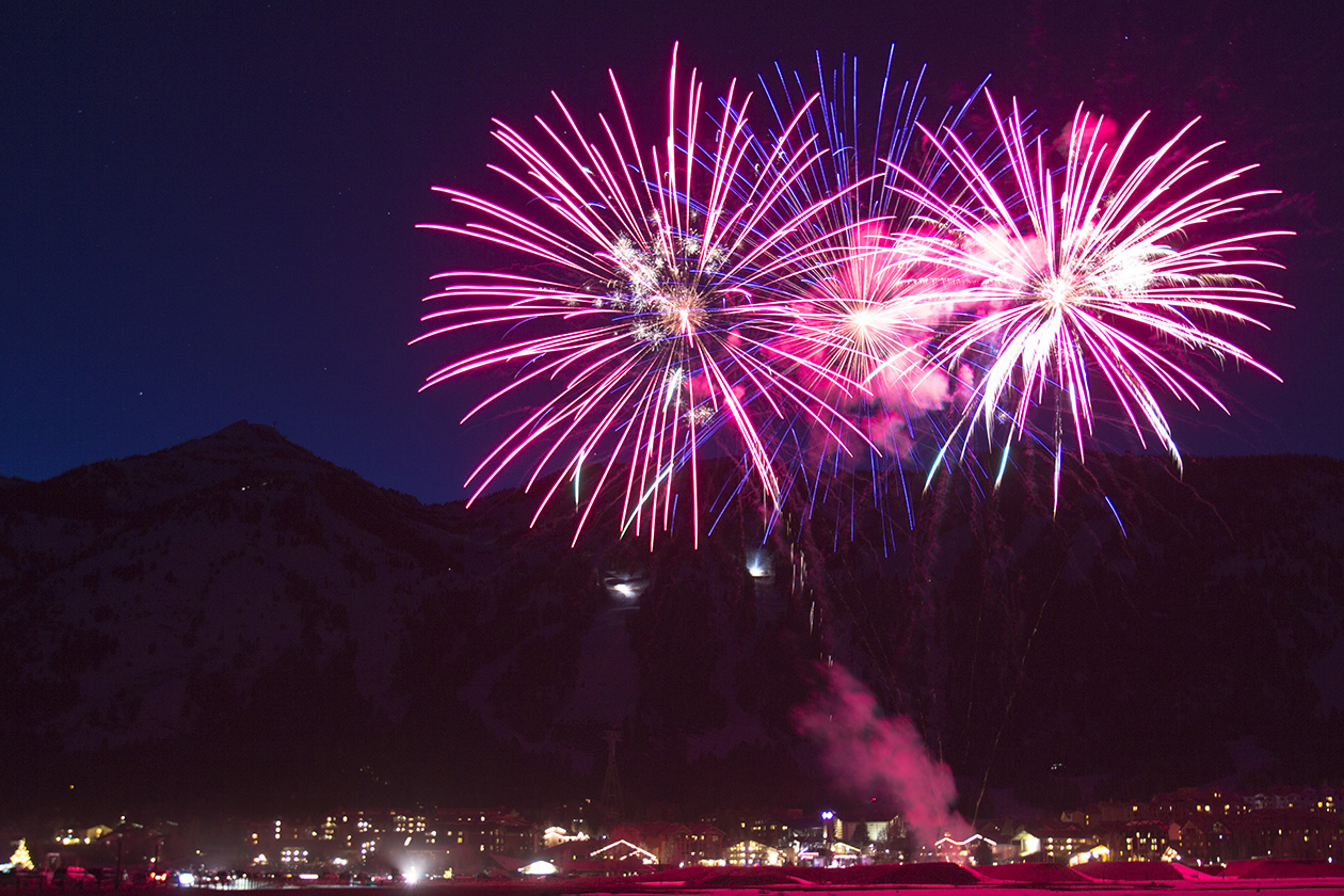 New Year's Eve in Jackson Hole, Wyoming