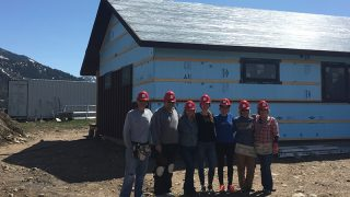 Giving Back: Habitat for Humanity