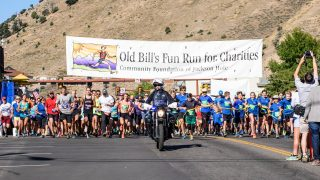 The 22nd Annual Old Bill's Fun Run: Jackson Hole Shows Its Community Spirit