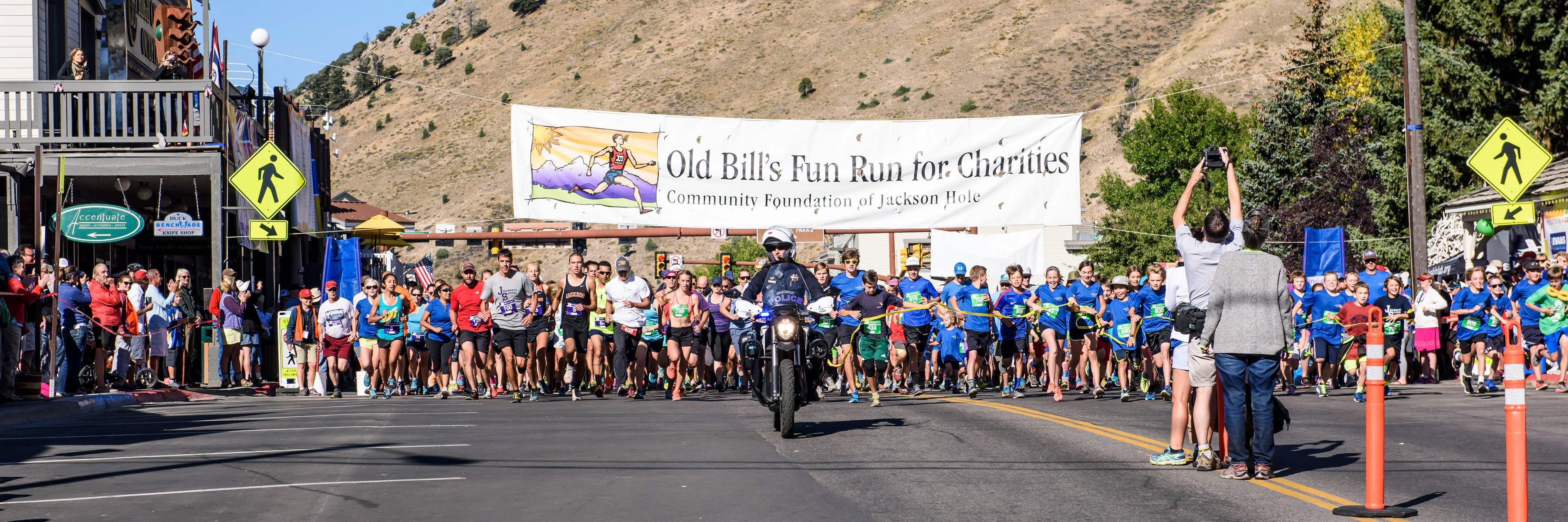 Old Bill's Fun Run 2018. Photo by JH Community Foundation