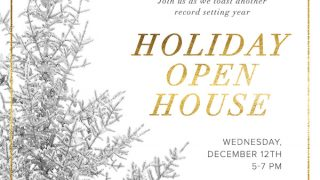 Please Join Us: JHREA Holiday Open House | Dec. 12