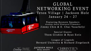 Global Networking Event | Jackson Hole, WY | Jan. 24 – 27
