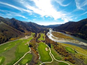 Aerial View from the Snake River Sporting Club