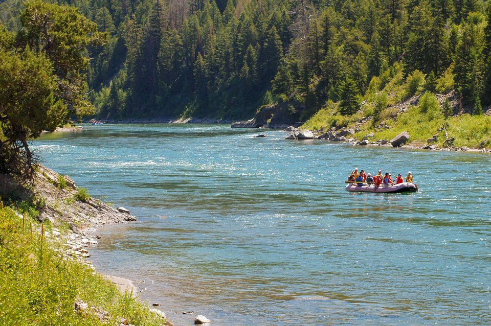 Float Trip at Snake River Sporting Club