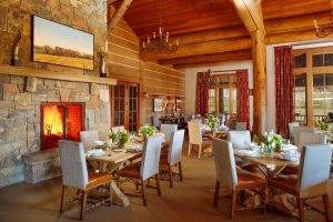Dining Room at the Snake River Sporting Club
