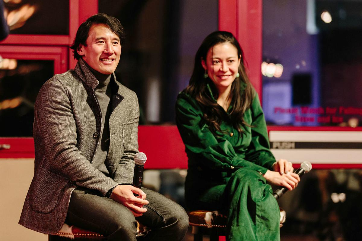Jimmy Chin and E. Chai Vasarhelyi