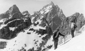 Mountaineers in the Tetons
