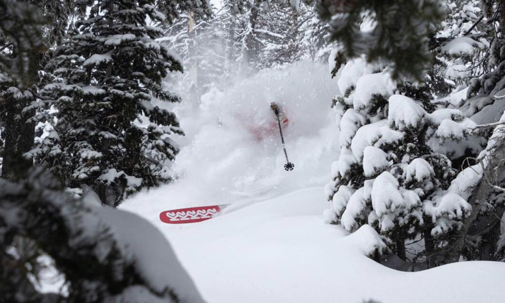 Record snowfall in February made for memorable skiing in Jackson Hole.