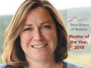 Patty Speakman was named TBOR's Realtor of the Year.