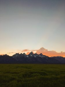 97 percent of Teton County is protected public land